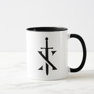 Knights Paladin Two-Tone Coffee Mug
