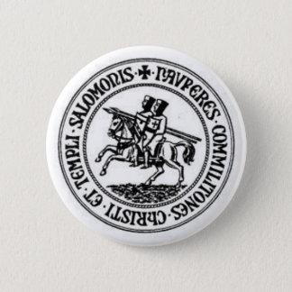 Knights Templar 1 2 Inch Round Button