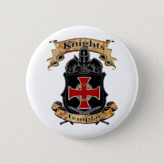 Knights Templar 2 Inch Round Button