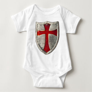 Knights Templar Baby Bodysuit