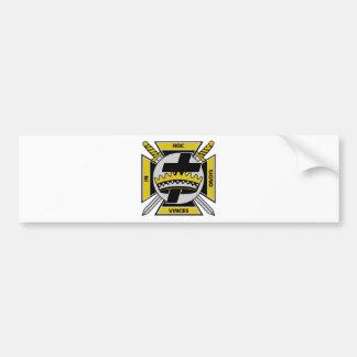 Knights Templar Bumper Sticker