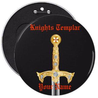 Knights Templar Button