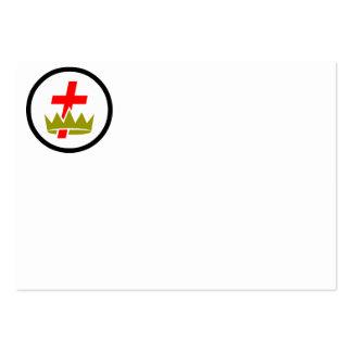 Knights Templar Commandery Business Card