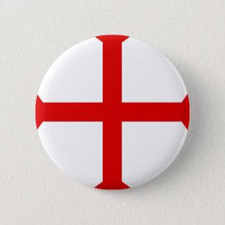 Knights Templar Cross 2 Inch Round Button