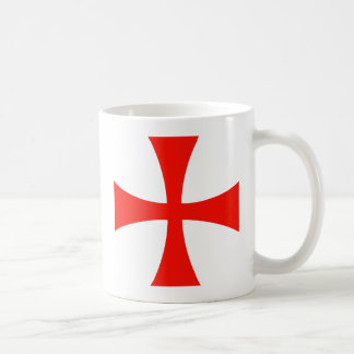 Knights_Templar_Cross Coffee Mug