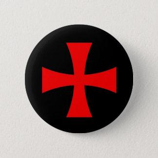 Knights Templar Cross [ Scottish ] 2 Inch Round Button