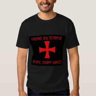 Knights Templar Cross [ Scottish ] Shirt
