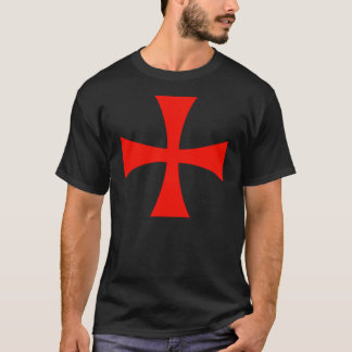 Knights Templar Cross T-Shirt