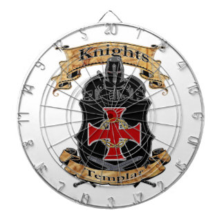Knights Templar Dartboard