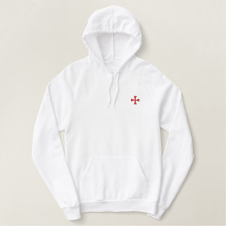 Knights Templar Embroidered Hoodie