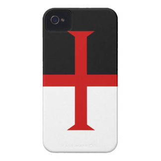 Knights Templar Flag iPhone 4 Case-Mate Cases