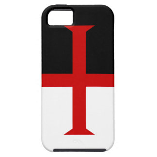 Knights Templar Flag iPhone 5 Cover