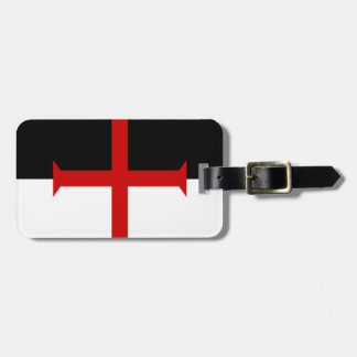 Knights Templar Flag Luggage Tag