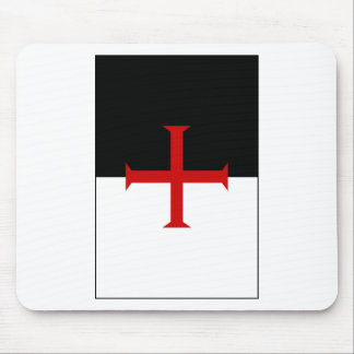 Knights Templar Flag Mouse Pad