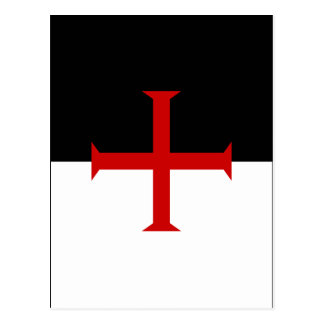 Knights Templar Flag Postcard