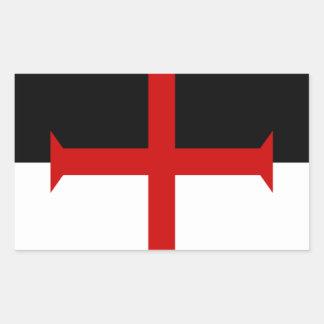 Knights Templar Flag Sticker