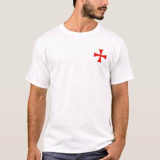 Knights Templar Helm, Mace and Sword Shirt