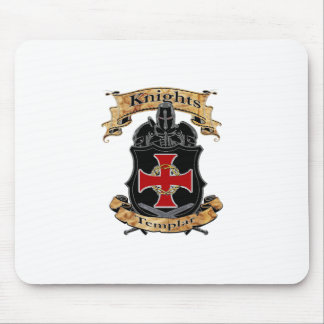 Knights Templar Mouse Pad