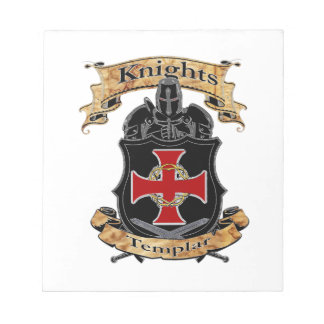 Knights Templar Notepad