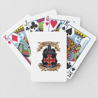 Knights Templar Poker Deck