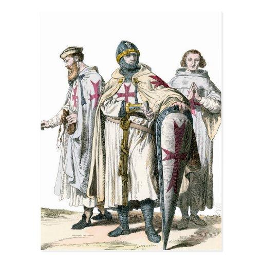 Knights Templar Postcard