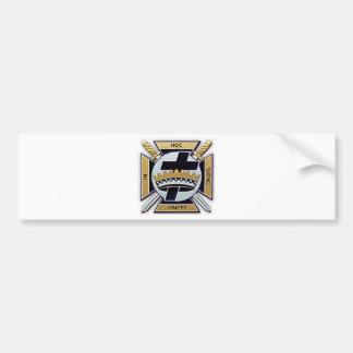 Knights Templar Products Car Bumper Sticker