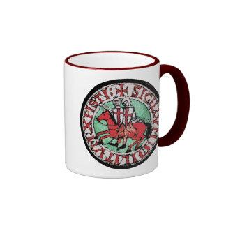 Knights Templar Seal Coffee Mugs