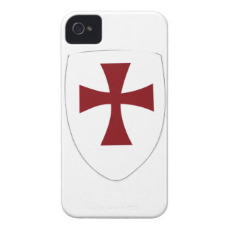 Knights Templar Shield Case-Mate iPhone 4 Cases