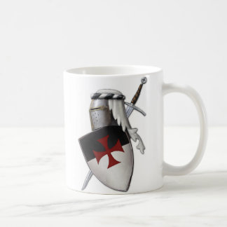 Knights Templar shield Coffee Mugs