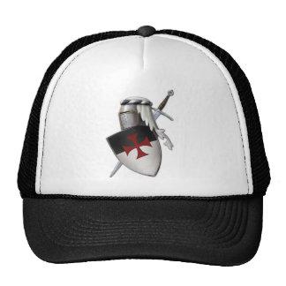 Knights Templar shield Trucker Hat