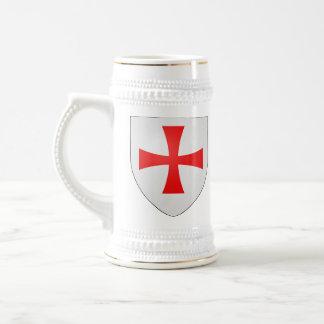 Knights Templar stein 18 Oz Beer Stein