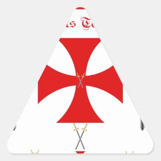 Knights Templar Triangle Sticker