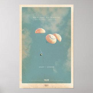 Kniife Prrty/Aeroshell Return to Earth EP Poster