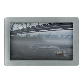 Knik River Bridge Belt Buckles