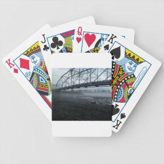 Knik River Bridge Bicycle Playing Cards