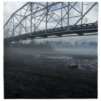 Knik River Bridge Napkin