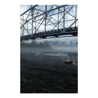 Knik River Bridge Stationery
