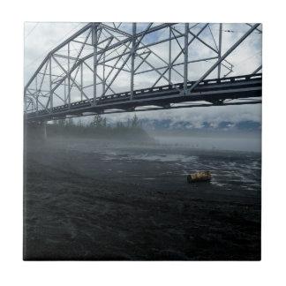 Knik River Bridge Tile
