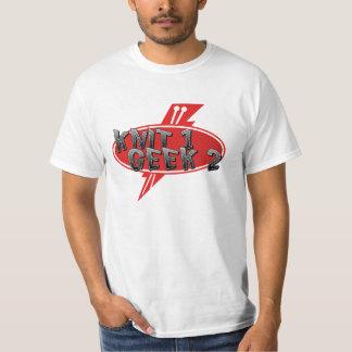 Knit 1 Geek 2 White shirt
