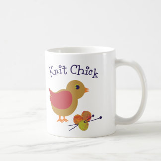 Knit Chick Coffee Mugs