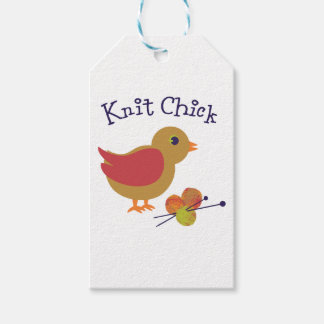 Knit Chick Pack Of Gift Tags
