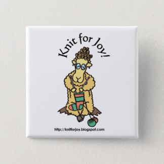 Knit for Joy button