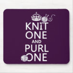 Knit One and Purl One (keep calm-all colours)