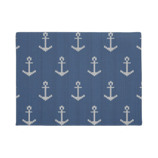 Knit Sea Anchor Doormat