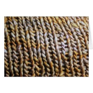 Knit Stitches Card