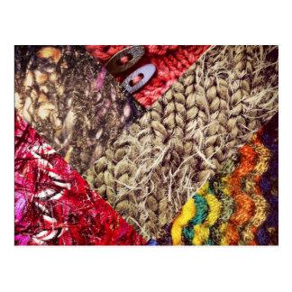 Knit Texture Postcard