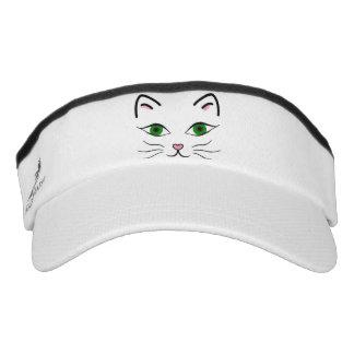 Knit Visor - Kitty Face