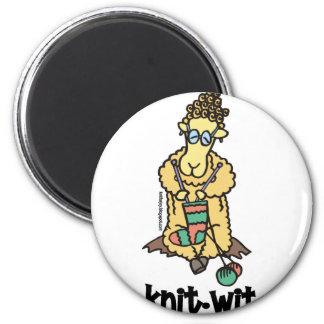 Knit-Wit Magnet