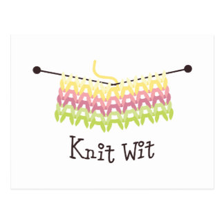 Knit Wit! Post Cards