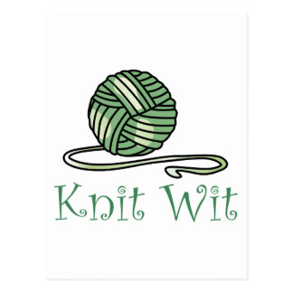 KNIT WIT POST CARDS
